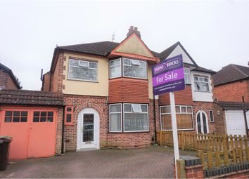 Thumbnail 3 bed semi-detached house for sale in Welford Road, Solihull