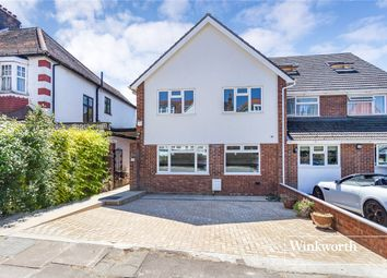 Thumbnail 4 bed semi-detached house for sale in St. Mary's Avenue, Finchley, London