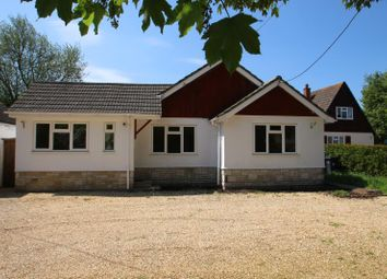 Thumbnail 3 bed detached bungalow for sale in Elston Lane, Shrewton, Salisbury