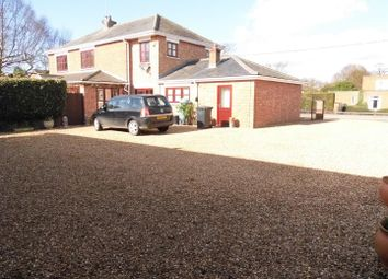 Thumbnail 5 bed detached house for sale in Mill Road, Terrington St. John, Wisbech