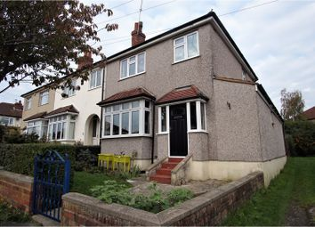 Thumbnail 3 bed end terrace house for sale in Woodchester Road, Westbury On Trym