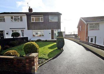 Thumbnail 3 bed semi-detached house for sale in Talbot Close, Talbot Green, Pontyclun, Rhondda, Cynon, Taff.