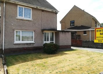Thumbnail 2 bed semi-detached house to rent in Parc Richard, Llanelli