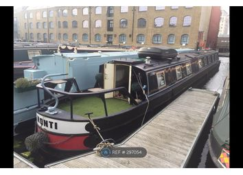 Thumbnail 1 bed houseboat to rent in New Wharf Road, London