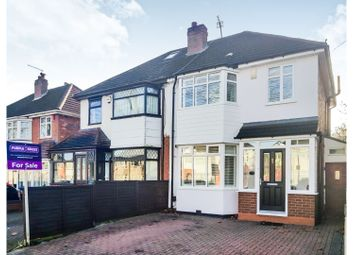 Thumbnail 3 bed semi-detached house for sale in Whitecroft Road, Birmingham