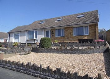 Thumbnail 4 bed detached bungalow for sale in Heol Dewi, Fishguard
