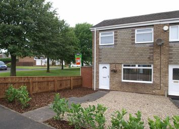 Thumbnail 3 bed end terrace house to rent in Filton Close, Cramlington
