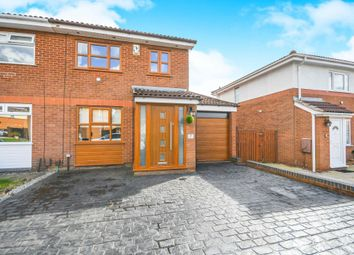Thumbnail 3 bed semi-detached house for sale in Lockerbie Close, Warrington, Cheshire
