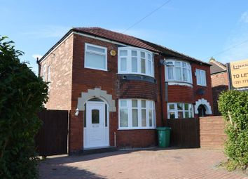 Thumbnail 3 bed semi-detached house to rent in Vale Street, Manchester