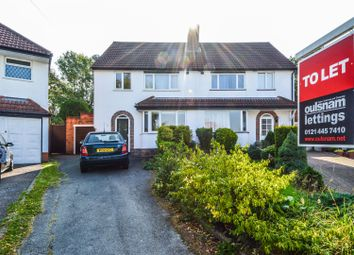 3 bed semi-detached house to rent in Southwold Avenue, Kings Norton, Birmingham B30
