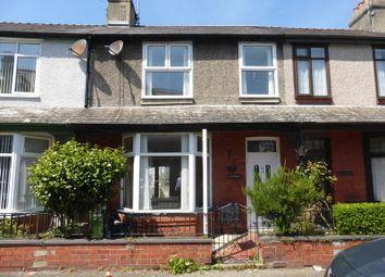 Thumbnail 3 bed terraced house for sale in Vaynol Street, Caernarfon