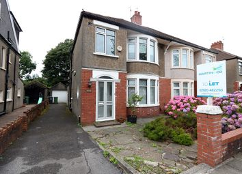 Thumbnail 3 bedroom semi-detached house to rent in St. Angela Road, Heath, Cardiff