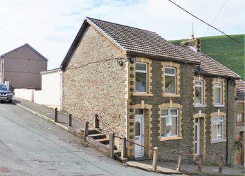 Thumbnail 3 bed end terrace house for sale in Fern Street, Ogmore Vale, Bridgend.