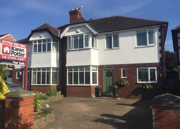 Thumbnail 4 bed semi-detached house for sale in Radnor Drive, Churchtown, Southport