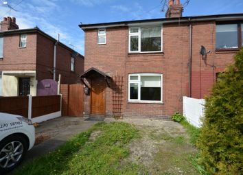 Thumbnail 3 bedroom semi-detached house to rent in Badger Avenue, Crewe