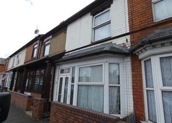 Thumbnail 3 bed terraced house for sale in Newland Road, Small Heath, Birmingham