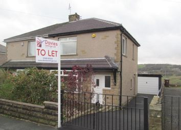 Thumbnail 3 bed semi-detached house to rent in Lawcliffe Crescent, Haworth, Keighley