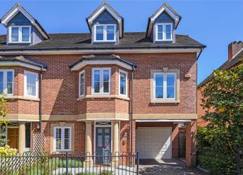 4 bed semi-detached house for sale in Selborne Villas, Hillbrow Road, Esher, Surrey KT10