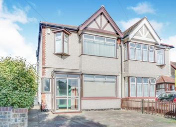 Thumbnail 3 bed semi-detached house for sale in Weybourne Gardens, Southend-On-Sea, Essex