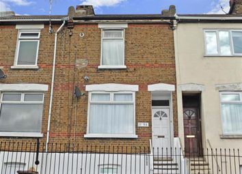 Thumbnail 2 bed terraced house for sale in Upper Luton Road, Chatham, Kent