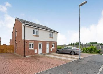 Thumbnail 2 bed semi-detached house for sale in Bowhill Road, Chapelhall, Airdrie, North Lanarkshire