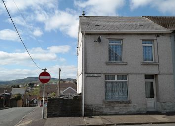 Thumbnail 3 bed end terrace house for sale in Richards Terrace, Treharris