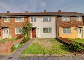 Thumbnail 3 bed terraced house for sale in Queens Crescent, Clapham, Bedford