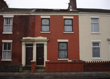 Thumbnail 4 bed terraced house to rent in Deepdale Road, Preston