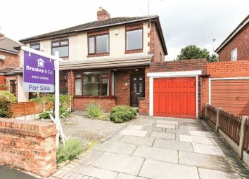 Thumbnail 2 bedroom semi-detached house for sale in Manor Road, Shevington, Wigan