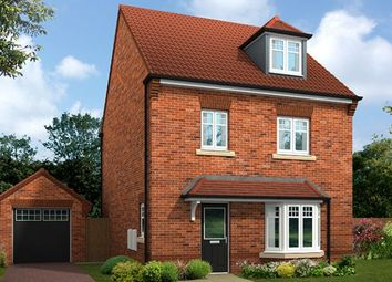 "Thumbnail 4 bed detached house for sale in ""The Buxton"" at Shireoaks Common, Shireoaks, Worksop"