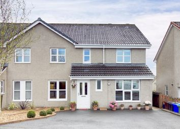 Thumbnail 4 bed semi-detached house for sale in Montgomery Crescent, Dunblane