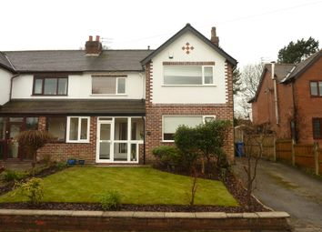 Thumbnail 3 bedroom semi-detached house to rent in Brinkburn Road, Hazel Grove, Stockport