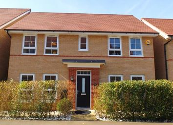Thumbnail 4 bed detached house for sale in Justice Way, Hampton Vale, Peterborough, Cambridgeshire