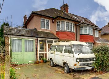 Thumbnail 3 bed semi-detached house for sale in Oakington Avenue, Rayners Lane, Harrow