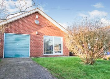 Thumbnail 2 bed bungalow for sale in Arnhem Drive, Caythorpe, Grantham