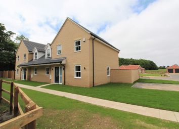 Thumbnail 4 bed semi-detached house for sale in Main Road, Filby, Great Yarmouth