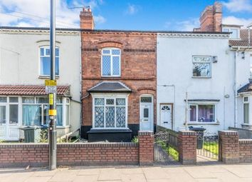 Thumbnail 2 bed terraced house for sale in Pershore Road, Birmingham, West Midlands