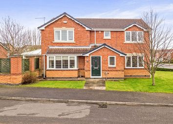 Thumbnail 4 bed detached house for sale in Alton Drive, Giltbrook, Nottingham