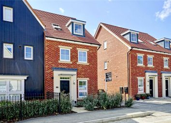 Thumbnail 4 bed semi-detached house for sale in Knights Way, St. Ives, Cambridgeshire