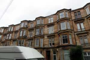 Thumbnail 1 bed flat to rent in Garthland Drive, Dennistoun, Glasgow