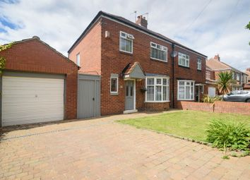 Thumbnail 3 bedroom semi-detached house for sale in West Avenue, South Shields