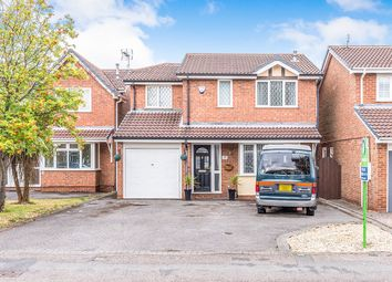 Thumbnail 4 bed detached house for sale in Hedge Road, Hugglescote, Coalville
