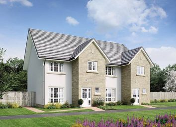 """Thumbnail 3 bed semi-detached house for sale in """"Arthur"""" at Penicuik Road, Roslin"""