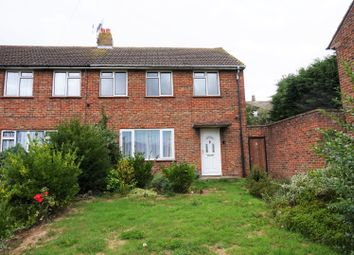 Thumbnail 3 bed semi-detached house for sale in Kent Avenue, Canterbury