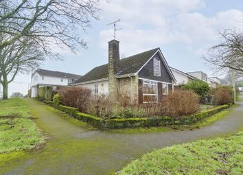 Thumbnail 4 bed detached bungalow for sale in Highfield Close, Caerleon, Newport