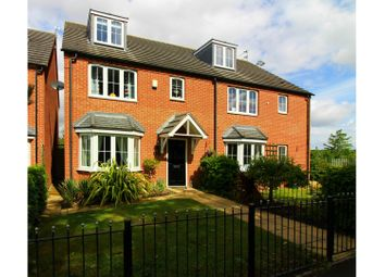 Thumbnail 4 bed town house for sale in Brickbridge Lane, Wolverhampton