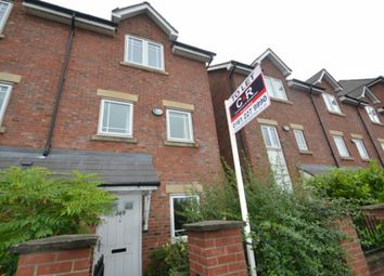 Thumbnail 4 bed town house to rent in Chorlton Road, Hulme, Manchester