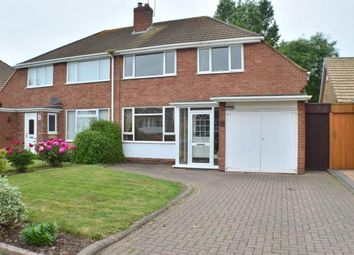 Thumbnail 4 bed semi-detached house for sale in Fecknam Way, Off Brownsfield Road, Lichfield, Staffordshire