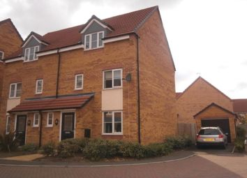 Thumbnail 3 bed semi-detached house for sale in Wellingar Close, Thorpe Astley, Braunstone, Leicester