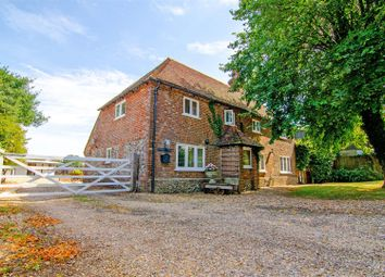 Canterbury Road, Selsted, Dover CT15. 4 bed equestrian property for sale